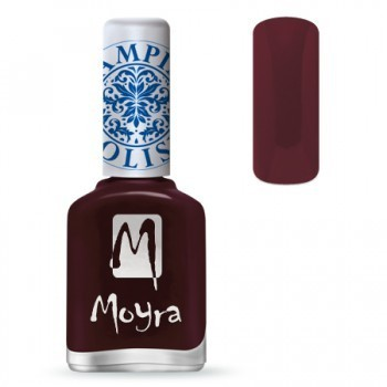 Moyra Stamping Lack - SP 03 Burgundy Red