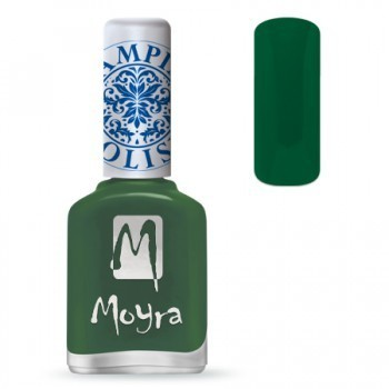Moyra Stamping Lack - SP14 Dark Green