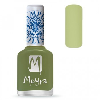 Moyra Stamping Lack - SP 15 Light Green