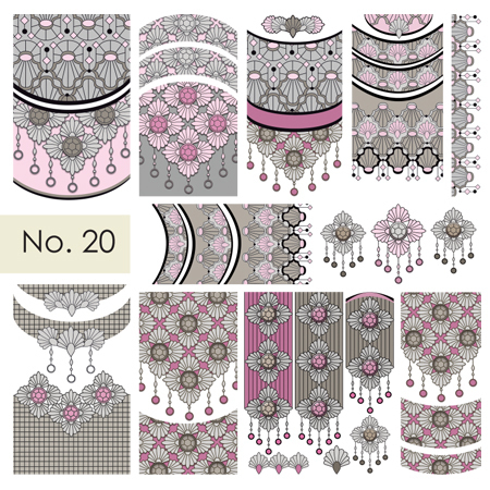 Moyra Nail Art Sticker Nr. 20