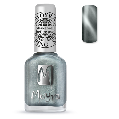 Moyra Stamping Lack - SP 30 Cat Eye Magnetic Silver