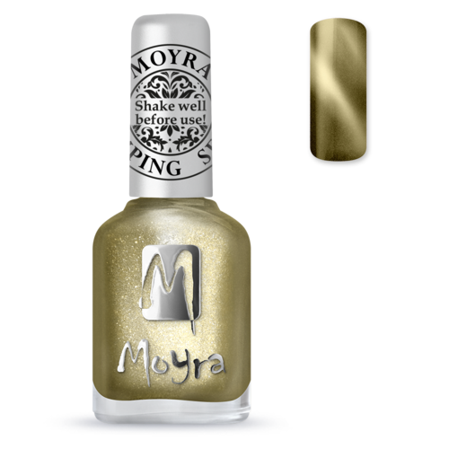 Moyra Stamping Lack - SP 31 Cat Eye Magnetic Gold