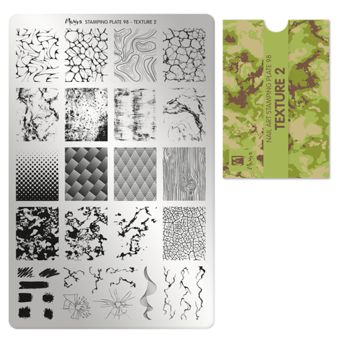 Stamping Platte Nr.98 - Texture 2