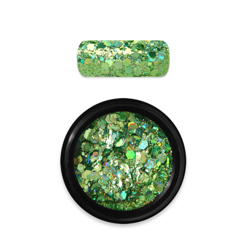 Holo Glitter Mix Nr. 08 - Green